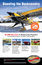 Print Ad featuring discount for RAF members