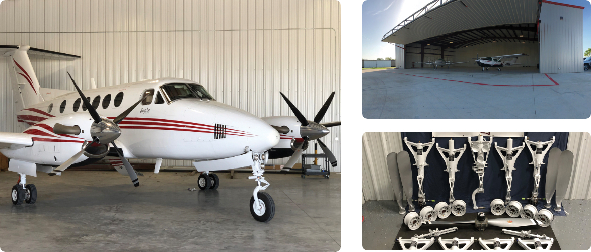 Texas Aircraft Propeller & Accessories photo montage